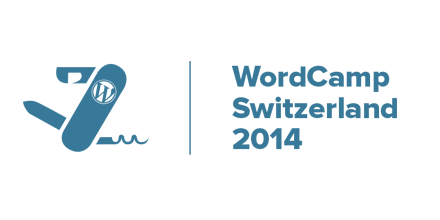 Logo of the WordCamp Switzerland Conference