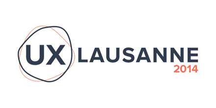 Logo of the UX Conference in Lausanne