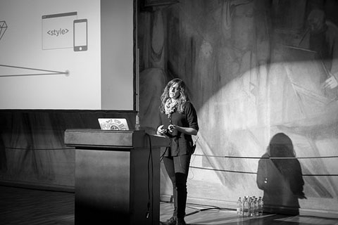 Karin Christen at WordCamp Europe 2014